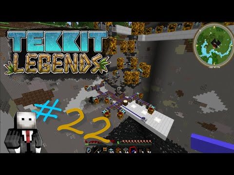 Tekkit Legends Finale! #22 HV Solar Panels!