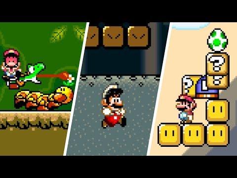Super Mario World - Glitch Compilation