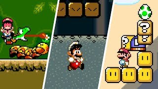 Super Mario World - Glitch Compilation
