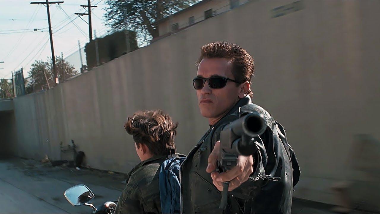 Truck-chase scene | Terminator 2 [Remastered] - YouTube