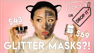 COP IT or DROP IT ▶ GLAMGLOW vs TOO FACED Glitter Masks Mp3