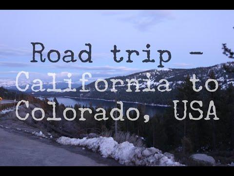 ROADTRIP - CALIFORNIA TO COLORADO (part 1) - USA TRAVEL VLOG