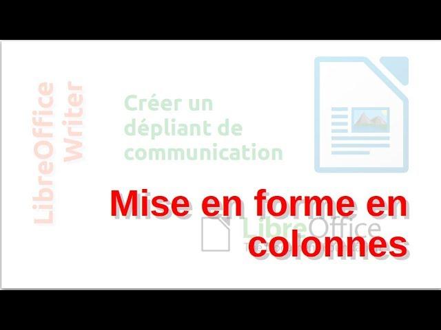 Un dépliant de communication avec LibreOffice Writer #4