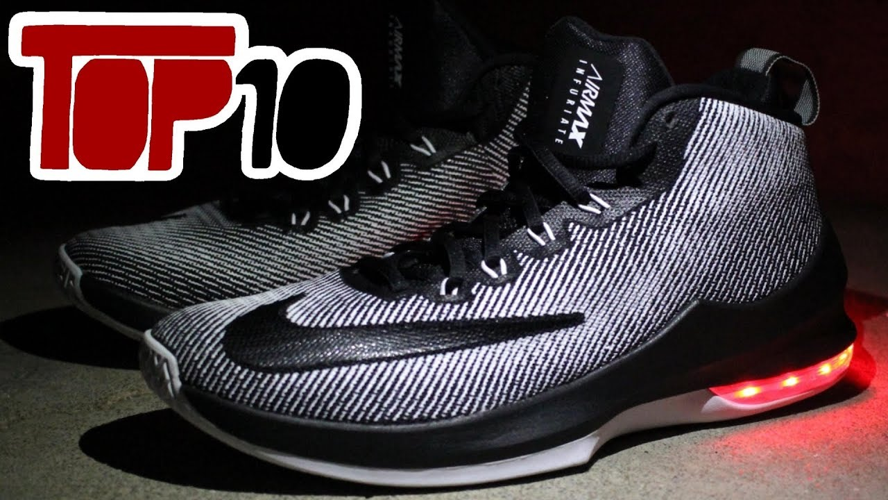 6a0fc19de7719 Top 10 Basketball Shoes Of 2017 for Centers - YouTube