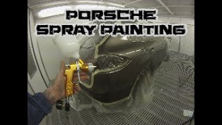 Porsche Cayenne How to Spray Paint