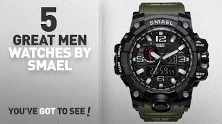 Top 10 Smael Men Watches [ Winter 2018 ]: SMAEL Men's Analog Digtal Sport Watch Dual Quartz Movement
