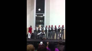 UAB FALL 2k11 Kappa Alpha Psi Line Part 1