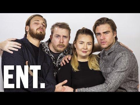 """""""Alla som har två pungkulor räck upp handen!"""" ÖVER BORDET - Sara Songbird & Petter Bristav"""
