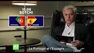 Espagne ou Portugal ? Le pronostic de José Mourinho