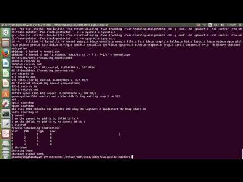 Adding system Call in xv6