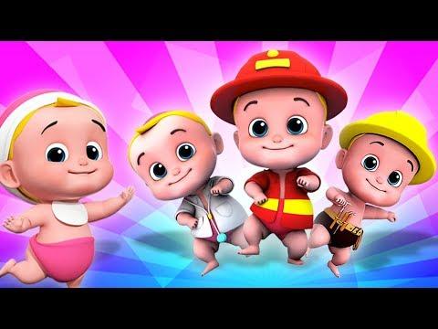 Lima Bayi Kecil | lagu untuk anak-anak | sajak anak-anak | Five Little Babies | Kids Tv Indonesia