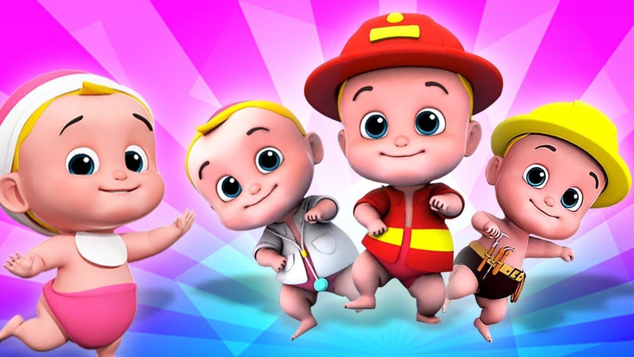 Download Lima Bayi Kecil | lagu untuk anak-anak | sajak anak-anak | Five Little Babies | Kids Tv Indonesia