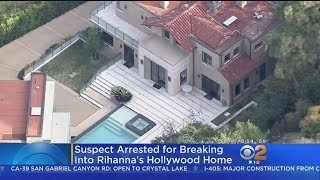 Man Breaks Into Rihanna