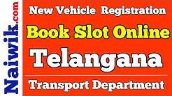 New Vehicle Registration || Telangana Transport Department | Book slot online