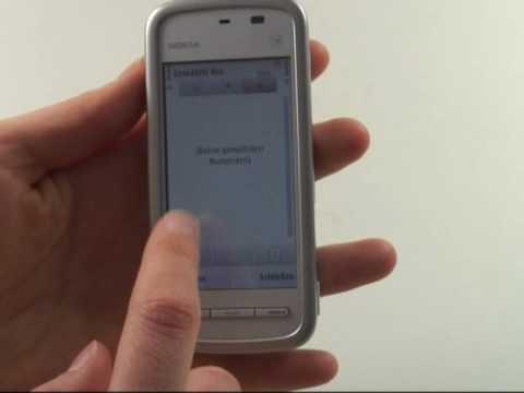 Nokia 5230 Test Bedienung