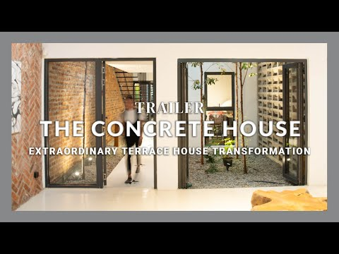 Malaysia's Extraordinary Homes | The Concrete House | Architecture | Terrace House Transformation