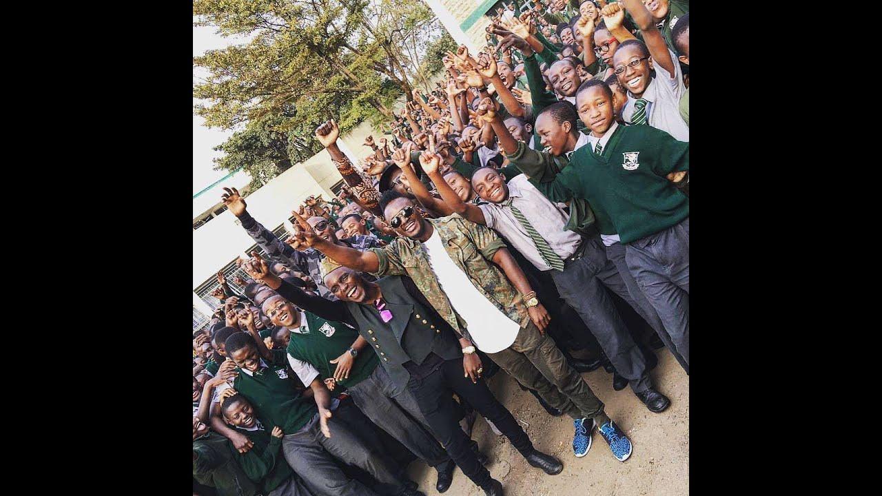 Download Sauti Sol with Upper Hill School Students -  Kuliko jana  A capella