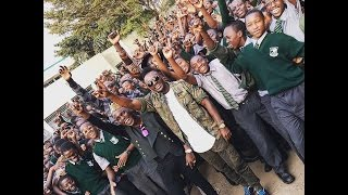 Sauti Sol with Upper Hill School Students -  Kuliko jana  A capella