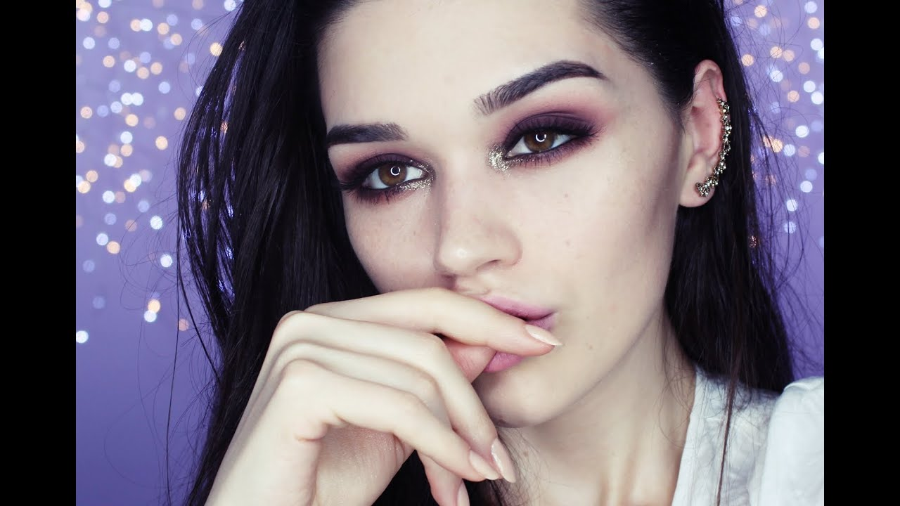 Edgy NYE makeup tutorial