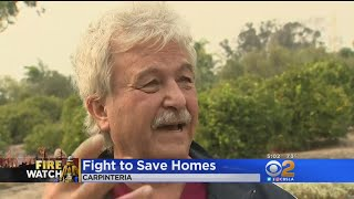 Carpenteria Man Grateful His Home Was Spared In Thomas Fire