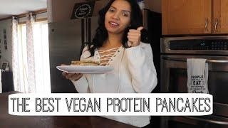 The Best Vegan Protein Pancakes Recipe | Quick & Easy Recipe