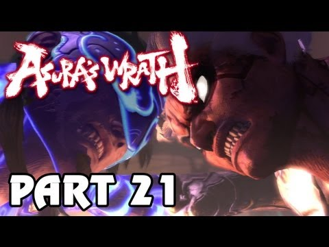 Asura's Wrath 'Playthrough: Episode 21 A Rude Awakening' TRUE-HD QUALITY