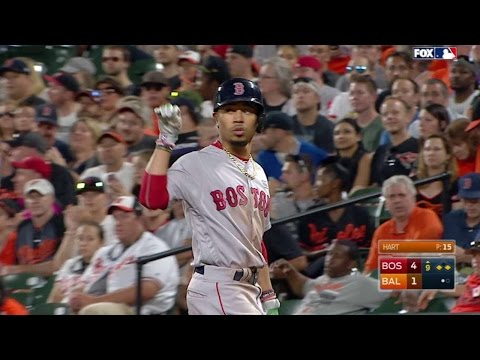 BOS@BAL: Betts Rips An RBI Single Up The Middle