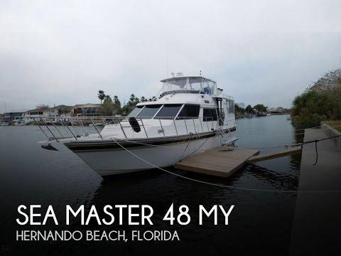 [UNAVAILABLE] Used 1990 Sea Master 48 MY in Hernando Beach, Florida