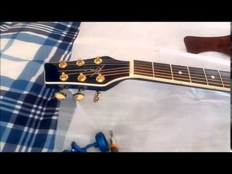 kona k2tbl review the blue guitar youtube. Black Bedroom Furniture Sets. Home Design Ideas