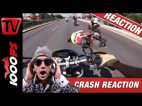 Motorradunfall Crash Compilation | Reaktion mit NastyNils | No more Fails!