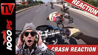 Motorradunfall Crash Compilation | Reaktion mit NastyNils | No more Fails!
