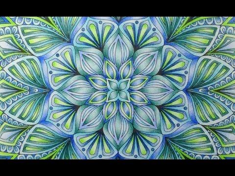Kaleidoscope Mandala Designs Faber Castell Polychromos