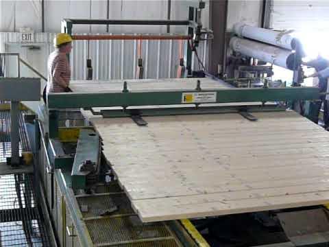Planer Mill Stud Stacker