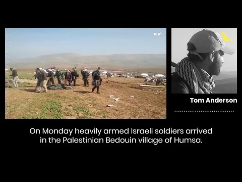 Israeli Army Repeatedly Destroys Palestinian Bedouin Village