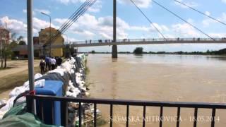 Sremska Mitrovica - Nasip na reci Savi 18.05.2014 (14:00h)