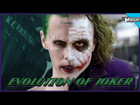 Evolution Of Joker In Movies & Cartoons!