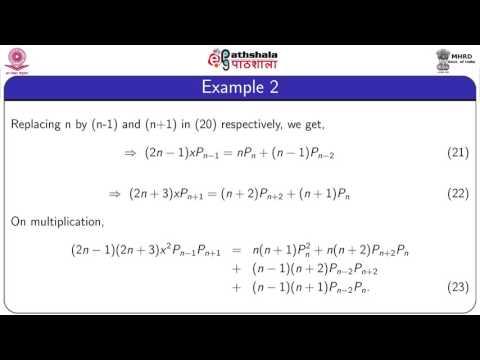 Orthogonal properties of Legendre (MATH)