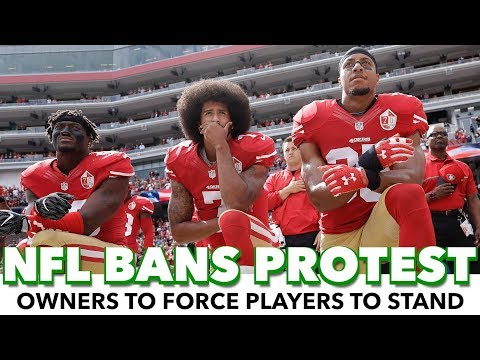 NFL Owners Snub First Amendment, Ban Players From Peaceful Protest