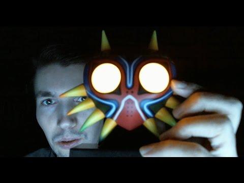 Маска Маджоры из The Legend of Zelda: Majora's Mask в реале! Светятся глаза! Анбонсинг