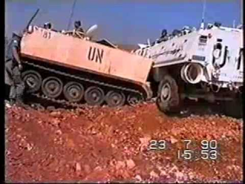 UNIFIL and IDF clash 23th of July 1990 round 2 Lebanon