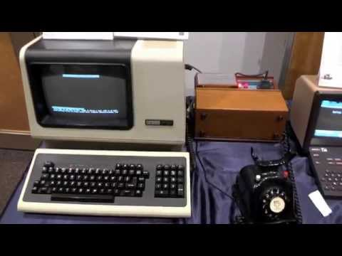 DEC VT100 connects to world's first website 2014-09-27