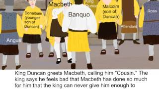 Macbeth - Act 1, Scene 4 Summary