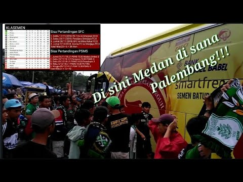 Cerita Suporter PSMS Cegat Bus Sriwijaya FC Berikan Sesuatu