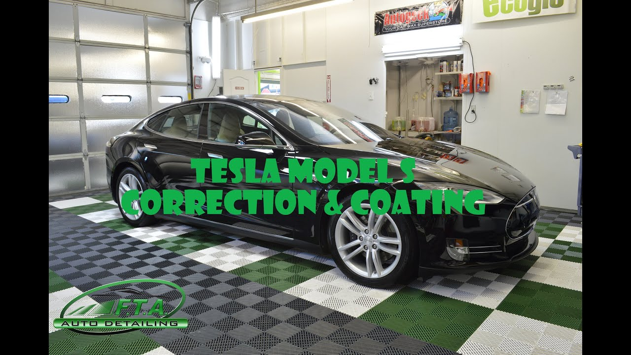 Auto Ceramic Coating Oregon 2015 Tesla Model S 85d Paint