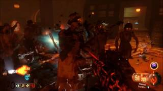 BO3 ZOMBIES: SHADOWS OF EVIL ROUND 120 + GAMEPLAY -