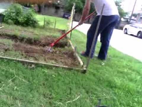 Working On Garden With The Garden Weasel Pt1