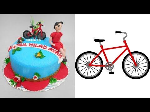 Bicycle Cake Decoration Theme