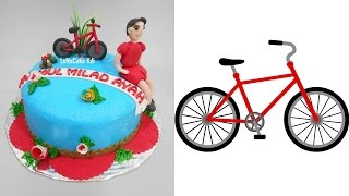 Bicycle Cake Decoration Theme