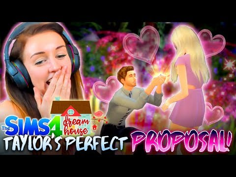 💍TAYLOR PROPOSED!?😱 (The Sims 4 #48! 🏡)