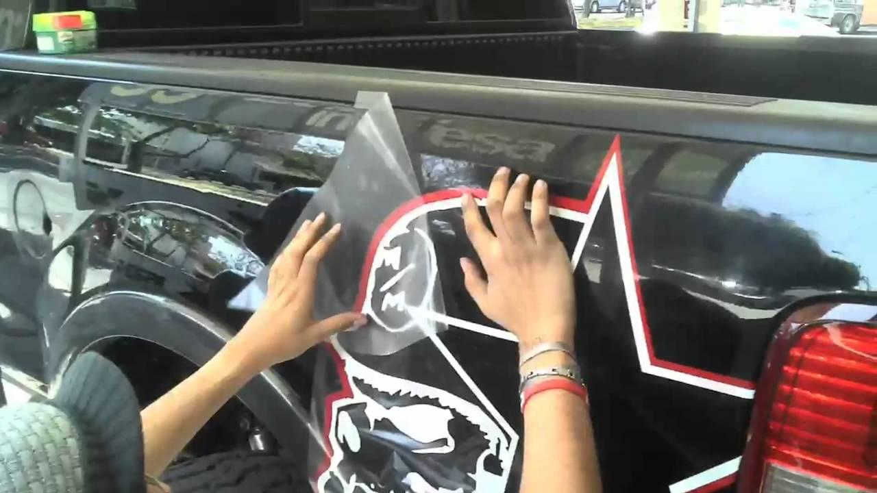 Rockstar Metal Mulisha Sticker En Ford Lobo F Glaubendes YouTube - Custom car window decals metal